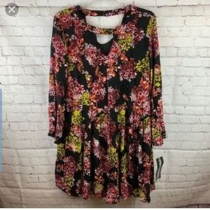 NWT Nina Leanord multi colored dress